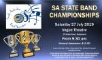 S.A State Band Championships July 27th